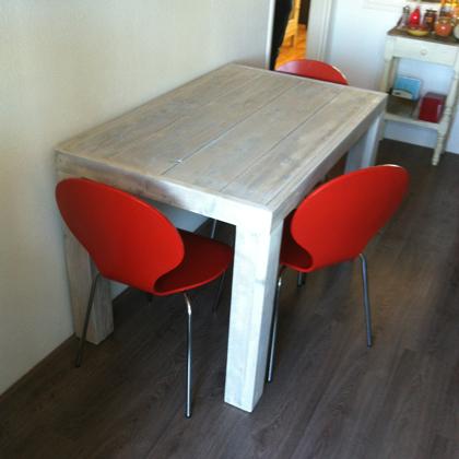 Steigerhout Eettafel