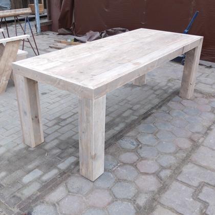 steigerhout eettafel groningen rustikal meubelen