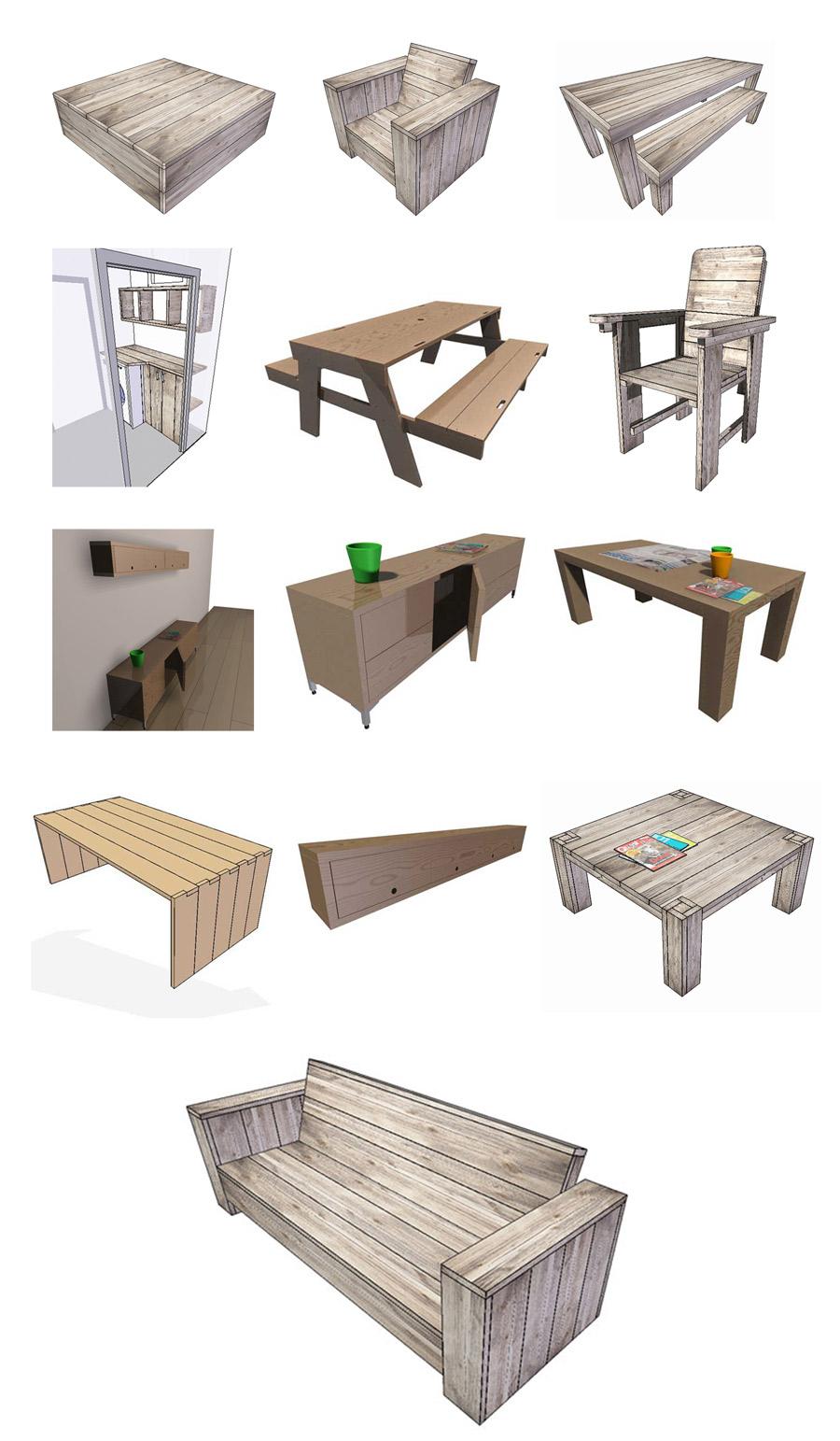 Uw idee in 3D, samen ontwerpen! - Huis&Tuinmeubelen.be