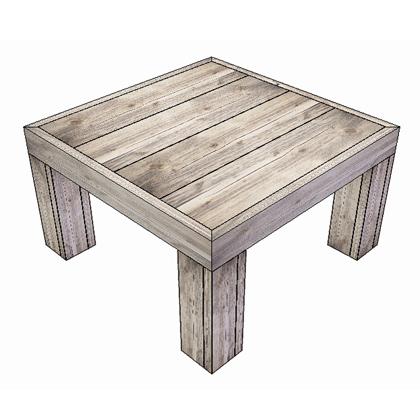 Steigerhout salontafel rustikal meubelen for Steigerhout salontafel