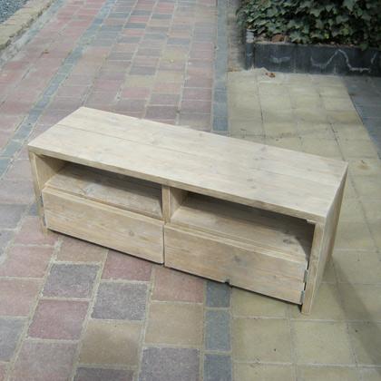 ... Tv-Meubel Wik - Steigerhouten meubelen - Rustikal Meubelen