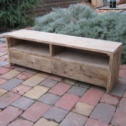 Tv meubel steigerhout, oud