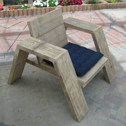 Steigerhout set 39 jutter 39 steigerhouten meubelen for Loungeset steigerhout zelf maken