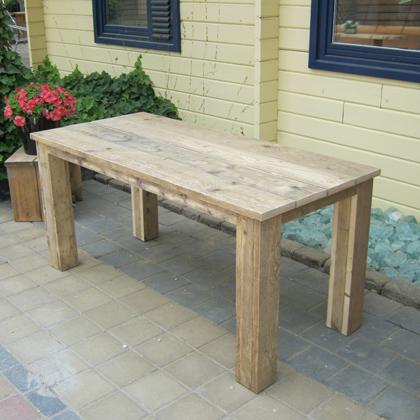 steigerhout tafel 39 groningen 39 steigerhouten meubelen