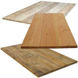 tafelbladen op maat gemaakt