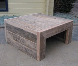 Damwandhouten salontafel 'Minsen'