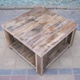 Damwandhout salontafel