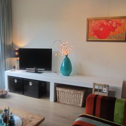 Steigerhout tv meubel 39 ten boer 39 for Steigerhout tv meubel
