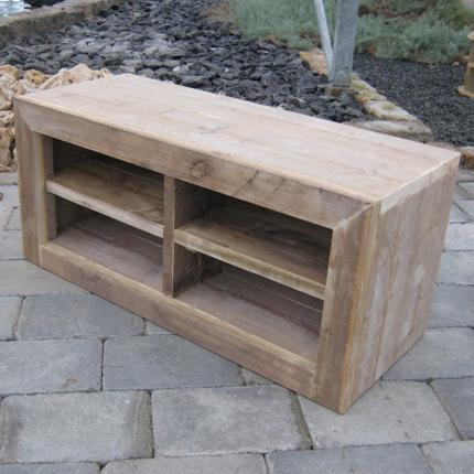 steigerhout tv meubel 39 ameland 39 steigerhouten meubelen