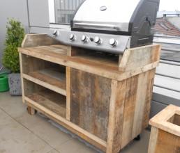Outdoor-kitchen 'Leer'