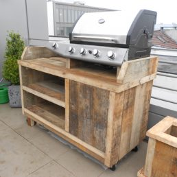 Outdoor-kitchen 'Leer'