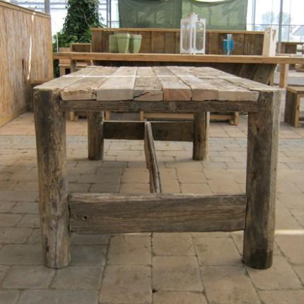 Damwandhout tafel 'Jura'