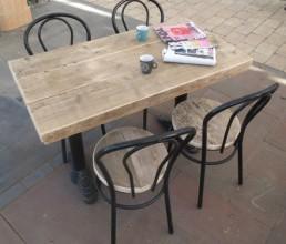 cafemeubilair steigerhout