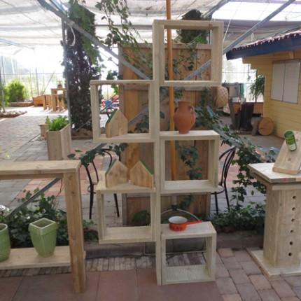 Scaffolding furniture 'Cube'