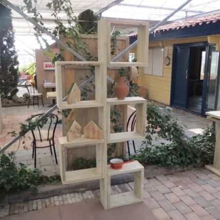 Steigerhout kast 'Cube'