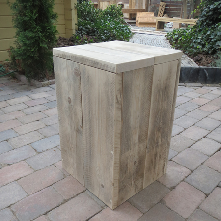 Houten zuil steigerhout