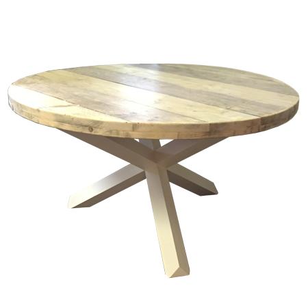 Ronde tafel steigerhout tekening