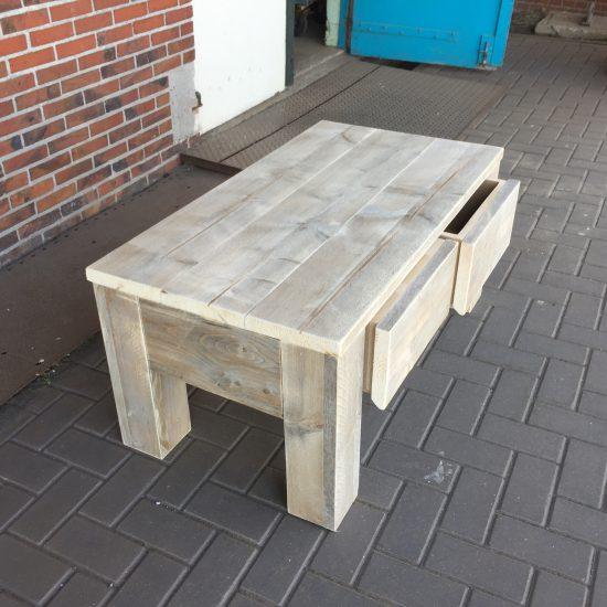 Steigerhout salontafel 39 frits 39 steigerhouten meubelen for Steigerhout salontafel