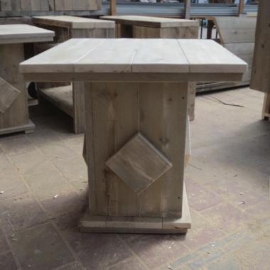 Steigerhout horeca-tafel