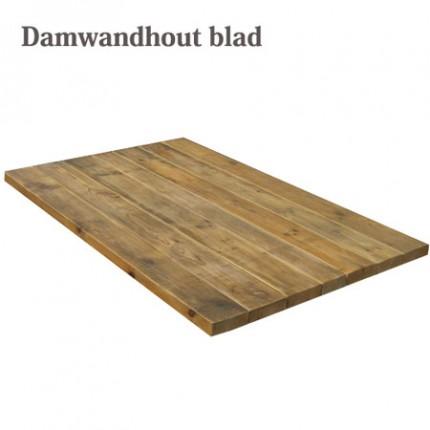 Tafelblad van damwandhout