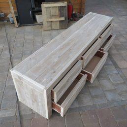 steigerhout tv-meubel