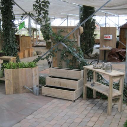 Steigerhout moestuin 'Bippen'